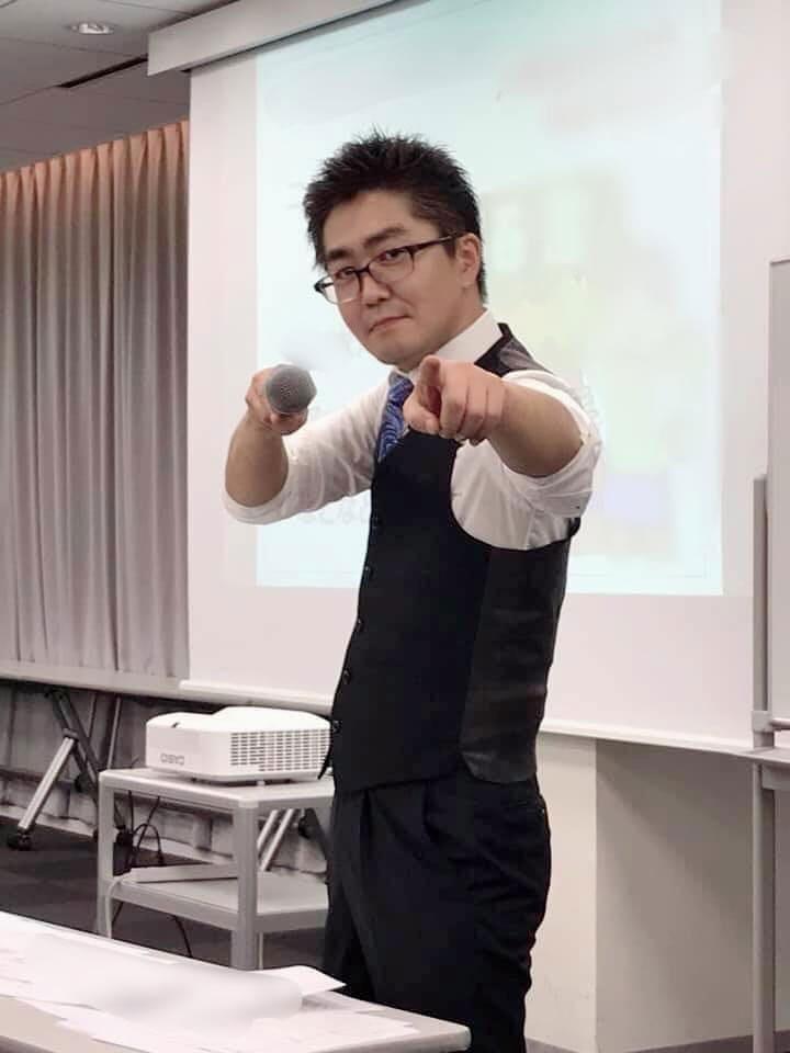 案件獲得セミナー講師の遠藤