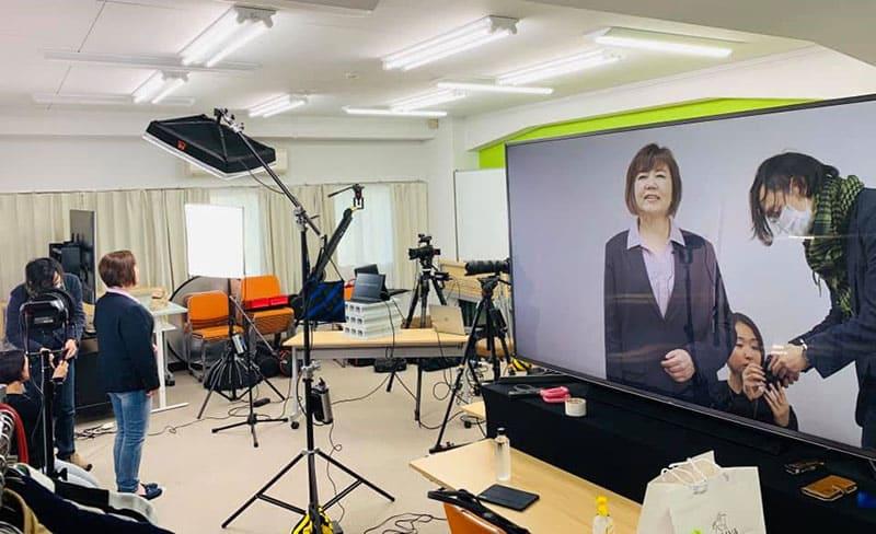 大森動画工房の撮影スタジオ